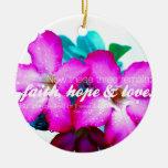 Corinthians 13: 13 christmas ornament