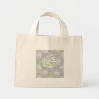 Corinthians 13:13 Faith Hope Love Mini Tote Bag
