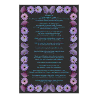 Corinthians in a Nightblooming Cactus Frame Posters