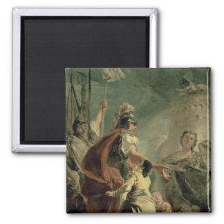 Coriolanus in the Environs of Rome, c.1725 Magnet