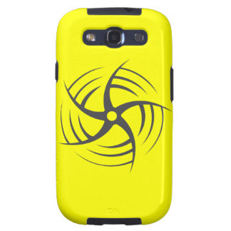 Coriolis Effect Swirly Throwing Star Samsung Galaxy S3 Covers