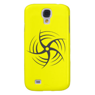 Coriolis Effect Swirly Throwing Star Galaxy S4 Cover
