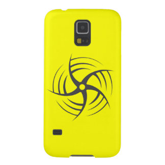 Coriolis Effect Swirly Throwing Star Galaxy S5 Cover