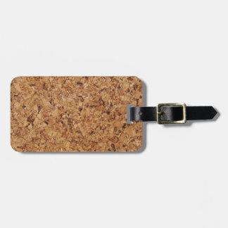 Cork Bag Tag