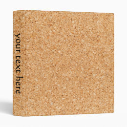 Cork Board 3 Ring Binder