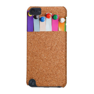 Cork board and heading for seven letter word iPod touch (5th generation) case