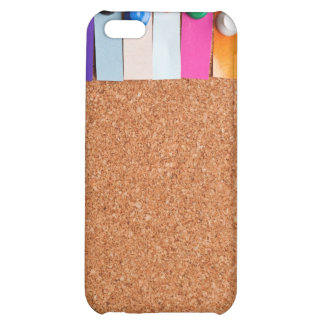 Cork board and heading for seven letter word iPhone 5C cover