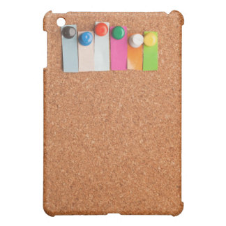 Cork board and heading for six letter word iPad mini cover