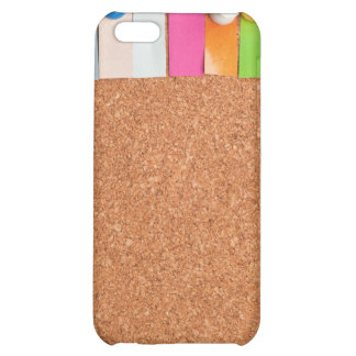 Cork board and heading for six letter word iPhone 5C case