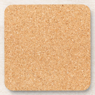 Cork Board Beverage Coaster