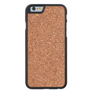 Cork Board Carved Maple iPhone 6 Case