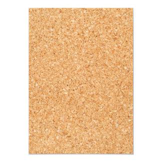 Cork Board 5x7 Paper Invitation Card