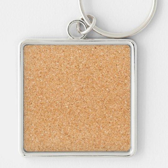 Cork Board Keychain