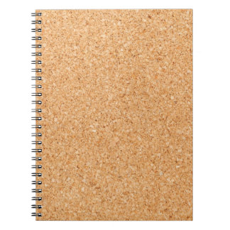 Cork Board Notebook