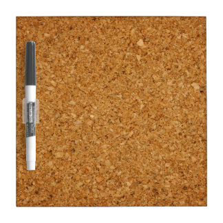 Cork board textured Dry Erase Board