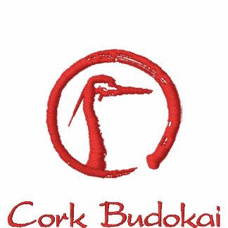 Cork Budokai polo shirt white