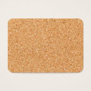 Cork business cards templates zazzle cork business card reheart Choice Image