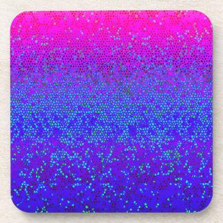 Cork Coaster Glitter Star Dust