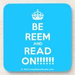 [Crown] be reem and read on!!!!!!  Cork Coasters