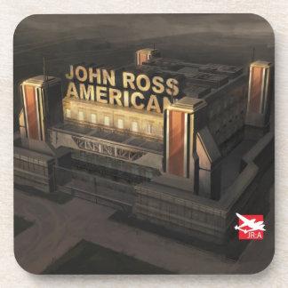 Cork Coasters 'John Ross: American'