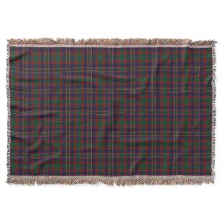 Cork County Irish Tartan Throw Blanket