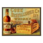 Cork Distilleries Whisky Vintage Ad Print