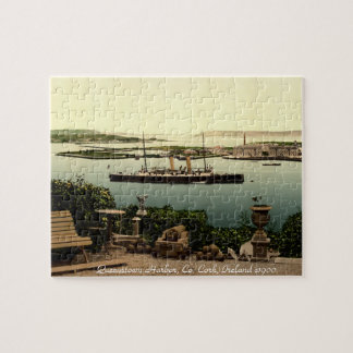 Cork, Ireland jigsaw, Queenstown harbor Puzzle