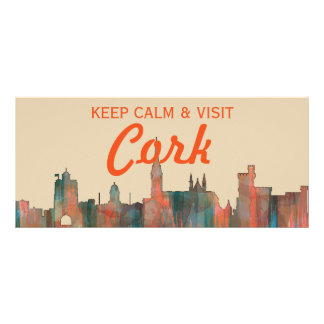 CORK, , IRELAND SKYLINE RACK CARD