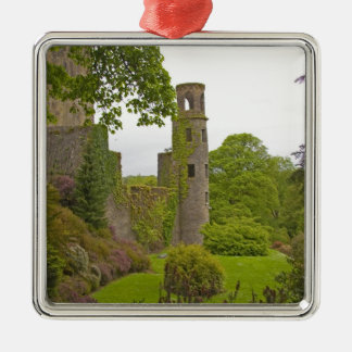 Cork, Ireland. The infamous Blarney Castle 2 Metal Ornament