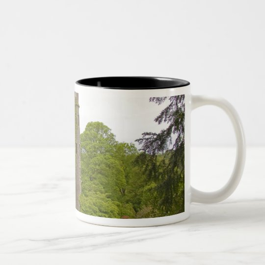Cork, Ireland. The infamous Blarney Castle 2 Two-Tone Coffee Mug
