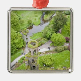Cork, Ireland. The infamous Blarney Castle Metal Ornament