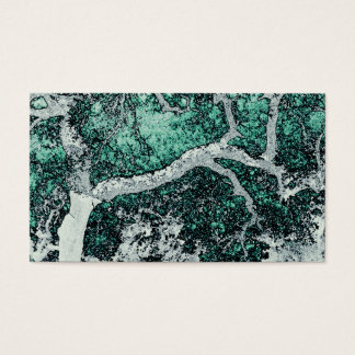 Cork oak digital art style prints Japanese Business Card