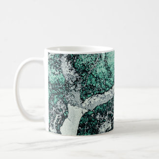 Cork oak digital art style prints Japanese Coffee Mug