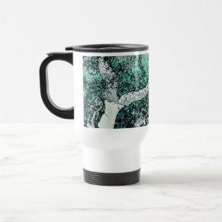 Cork oak digital art style prints Japanese Travel Mug