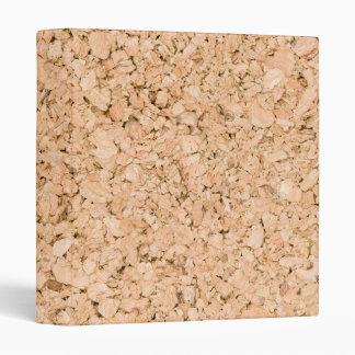 Cork oak pattern binder