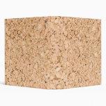 Cork oak pattern binders