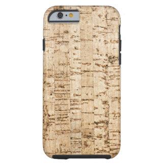 Cork oak pattern tough iPhone 6 case