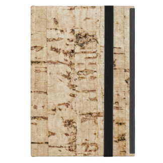 Cork oak pattern iPad mini cases