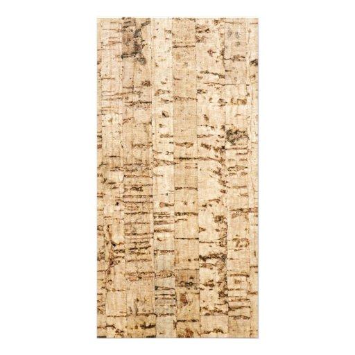Cork oak pattern photo cards