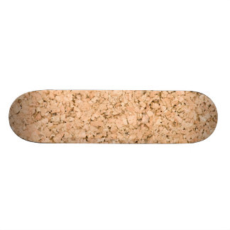 Cork oak pattern skateboard