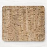 Cork-oak texture mouse pad