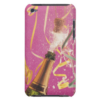 Cork popping on champagne during celebration barely there iPod cover
