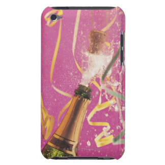 Cork popping on champagne during celebration iPod touch Case-Mate case