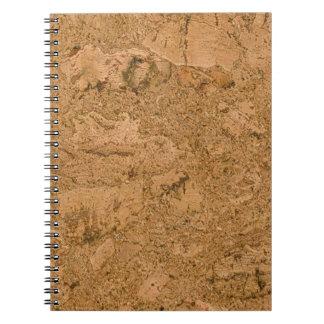 Cork Spiral Notebook