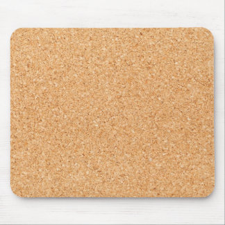 Cork texture mouse pad