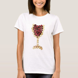 Cork Wine Glass Shirt