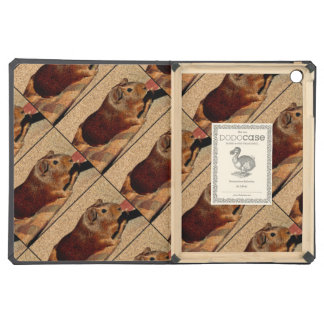 Corkboard Look Guinea Pig Cover For iPad Air