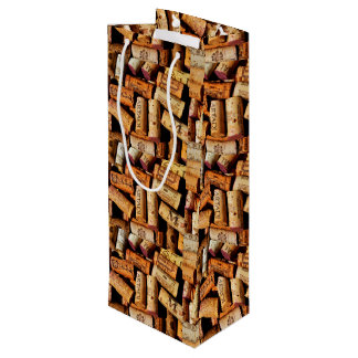 Corked Wine Gift Bag