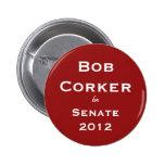 Corker de Bob para el botón del senado Pin