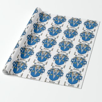 Corker Family Crest Gift Wrap